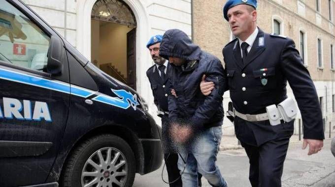 Antonio Tagliata, in carcere per l'omicidio dei genitori della fidanzata