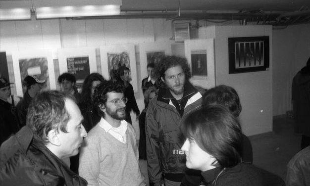 Jovanotti da Muffa in una foto del 1996 (Frasca)