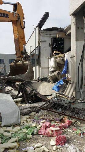 La sede Securpol assaltata nella notte