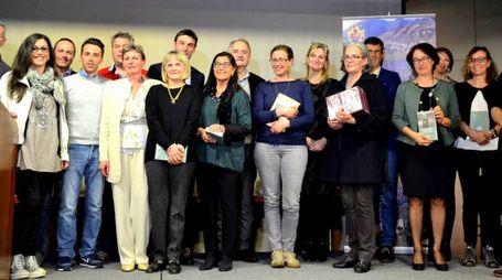 SONDALO, Concorso Poesia dialettale - Giunta, organizzatori e giuria - FOTO(NATIONAL PRESS/ORLANDI)
