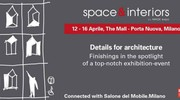 L'evento 'space & interiors' al The Mall