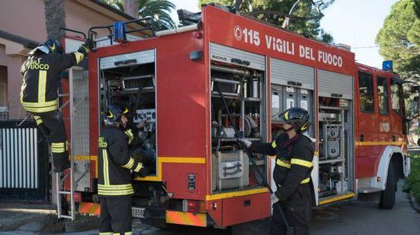 Vigili del fuoco (Foto di repertorio Zeppilli)