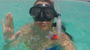 Valentina Vignali alle Maldive (da Instagram)