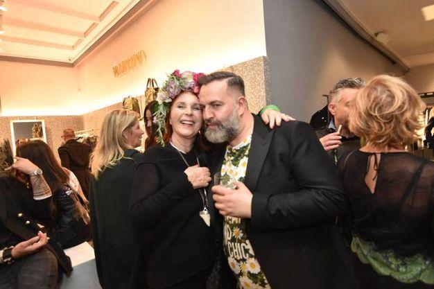 Giorgia Rapezzi (L'Inde le Palais) e Simone Guidarelli, fashion stylist