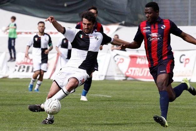 L'Aquila - Siena 1-2 (Foto Fabio Dipietro)