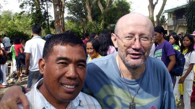 Padre Fausto Tentorio  a North Cotabato, nelle Filippine