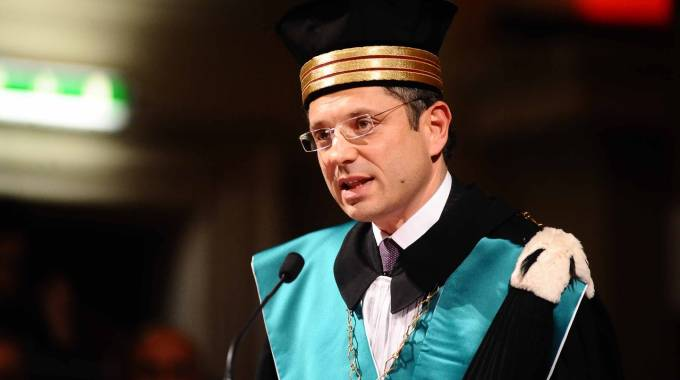 Il rettore dell'Alma Mater, Francesco Ubertini