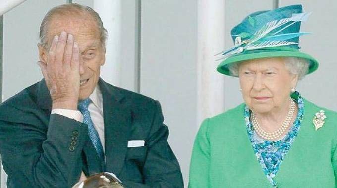 La regina Elisabetta e il principe Filippo