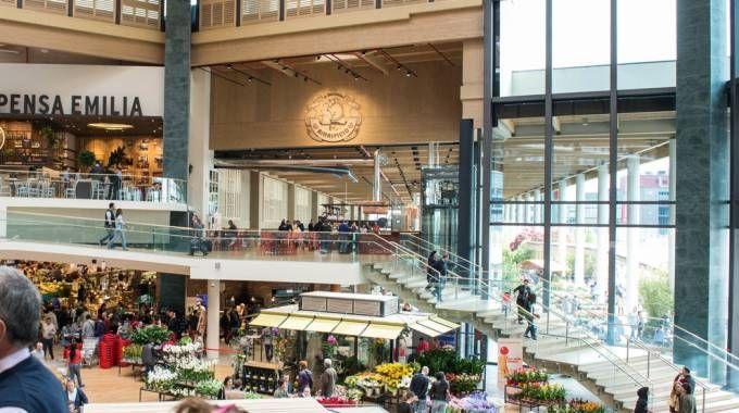 Un'immagine del centro commerciale di Arese (Spf)