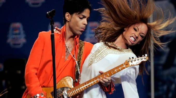 Prince, concerto a Miami Beach nel 2007 (LaPresse)