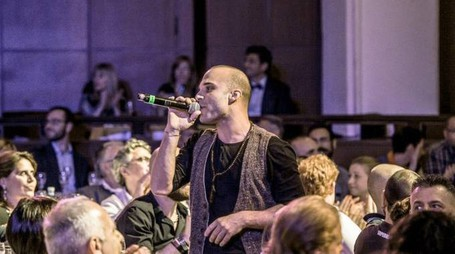 SONDRIO, Emanuele Revalente, attore, cantante e ballerino professionista di musical - FOTO(NATIONAL PRESS/ORLANDI)