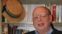 Il presidente Guido Biancalani, con l'immancabile paglietta