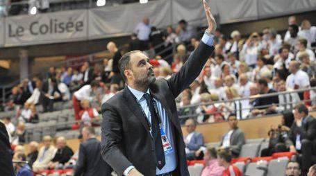 CHALON OPENJOBMETIS VARESE ELAN CHALON FIBA CUP NELLA FOTO MORETTI