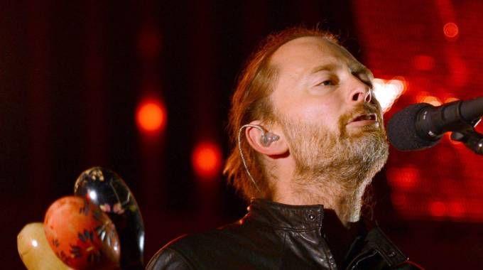 Thom Yorke, Radiohead (Ansa)