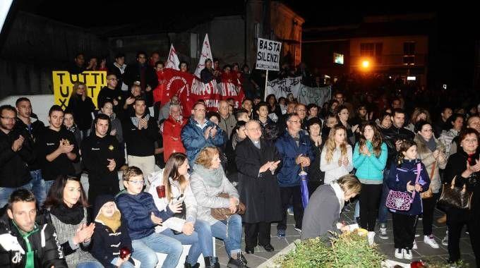 La grande manifestazione di due anni fa (foto Businesspress)