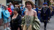 Sfilata in abiti e costumi d'epoca (foto Corelli)