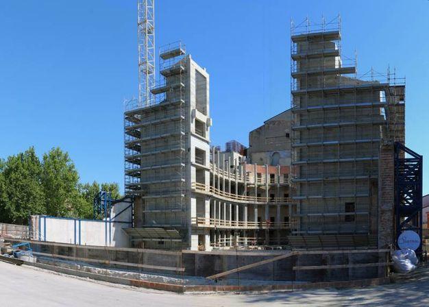 Teatro galli ecco come procede la ricostruzione guarda for Come leggere i piani del cantiere