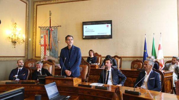 Il Consiglio comunale di Bologna (FotoSchicchi)