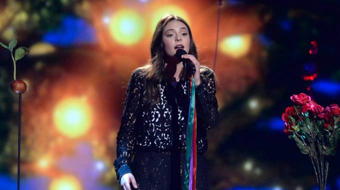Francesca Michielin all'Eurovision Song Contest 2016 (Afp)