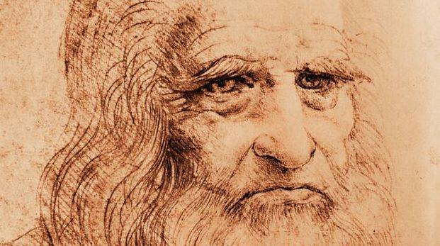 Particolare dell'Autoritratto di Leonardo da Vinci (Foto: B.A.E. Inc./Alamy/Olycom)
