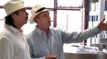 Pepe Hermosillo e Santana
