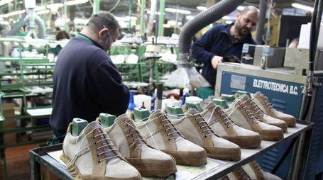 Germogli Ph 22 febbraio 2013 Cerreto Guidi Calzaturificio Pakerson operai manifattura