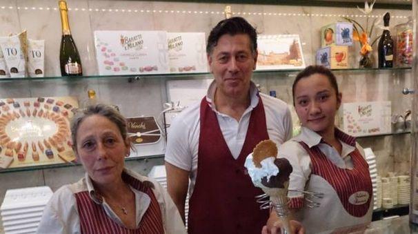 70 anni della gelateria Baroncini (NewPressPhoto)