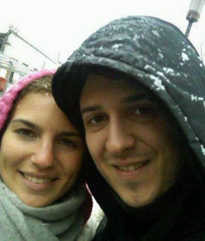 Michela Noli e Mattia Di Teodoro nei giorni felici (foto tratte da Facebook)