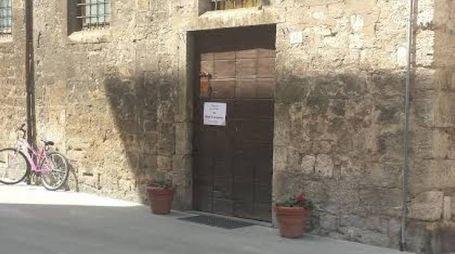 L'ingresso dell'ex Leopoldus