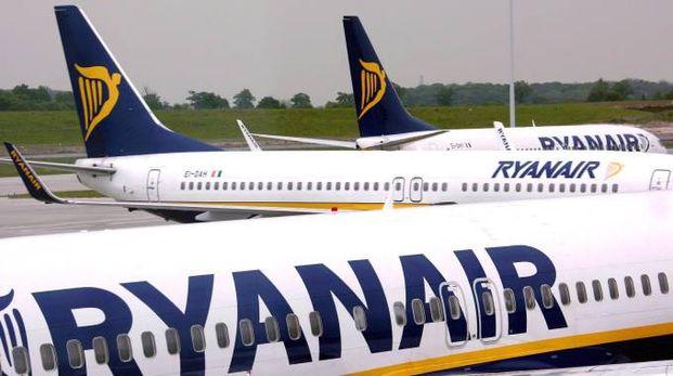 Aerei della Ryanair (Ansa)