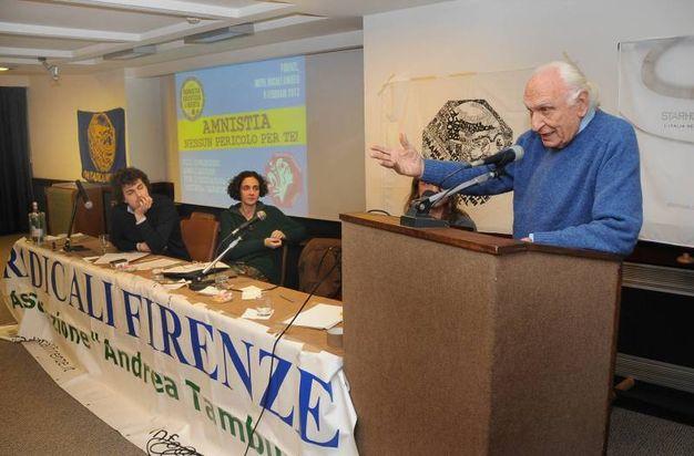 Marco Pannella a Firenze (New Press Photo)