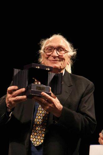"""Marco Pannella a Firenze riceve il premio """"Galileo 2000"""" (New Press Photo)"""