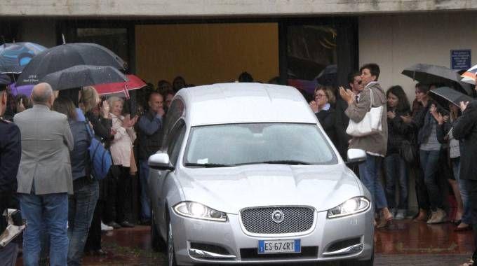 I funerali di Michela Noli