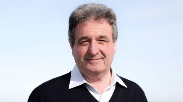 Gabriele Vitali, della Lista Marotta, spiega il programma della compagine e ne espone i punti chiave