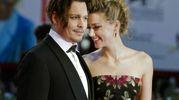 Amber Heard e Johnny Depp (Ansa)