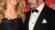 Amber Heard e Johnny Depp (Olycom)