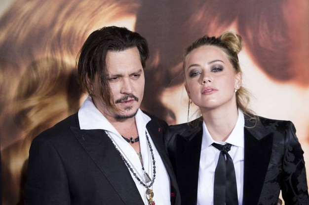 Amber Heard e Johnny Depp (AFP)