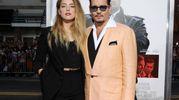 Amber Heard e Johnny Depp (Amsa)