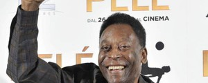 PELE PELE FILM PHOTOCALL, MILAN, ITALY, 25 MAY 2016 PELE , FILM, PHOTOCALL, MILAN, ITALY, 25, MAY, 2016, PELE, EX, FORMER, SOCCER, PLAYER, FOOTBALLER, WORLDWIDE, AMBASSADOR, FOR, FOOTBALL, FOOTBALL PLAYER, SPORTSPERSON, MALE, PERSONALITY, 36911397