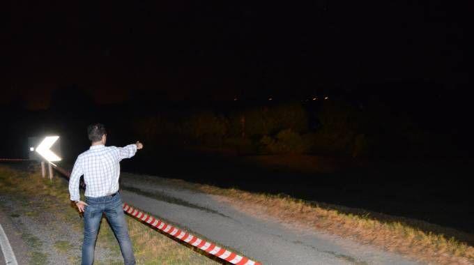 Rovigo, omicidio a Canaro: il cadavere è stato trovato a Garofalo (Foto Donzelli)