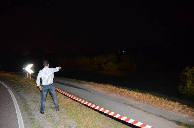 Omicidio a Canaro: il cadavere è stato trovato a Garofalo (Foto Donzelli)