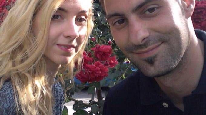 Sara Di Pietrantonio e l'ex fidanzato Vincenzo Paduano (Ansa)