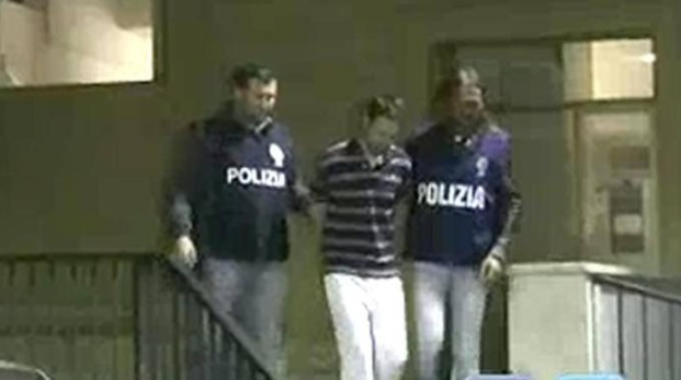 L'arresto di Vincenzo Paduano, reo confesso dell'omicidio della ex (Ansa)
