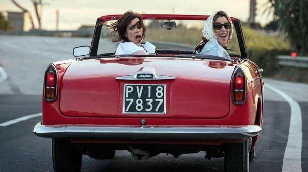 Una scena del film 'La pazza gioia' (Ansa)