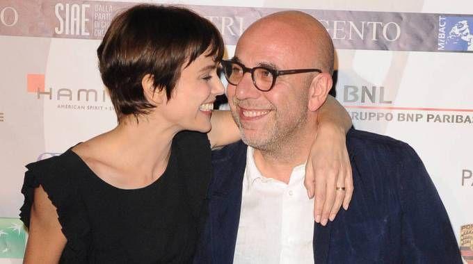 Micaela Ramazzotti e Paolo Virzì (Olycom)