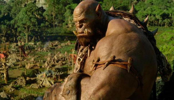 Un orco del film 'Warcraft'