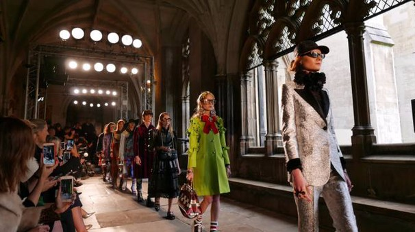 Gucci sfila a Westminster