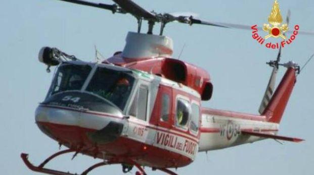 Elicottero dei Vigili del fuoco (foto d'archivio)