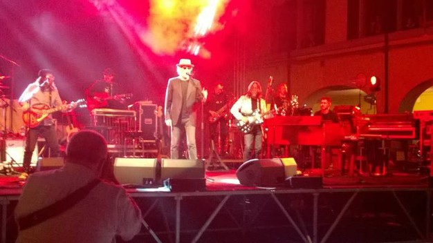 Il concerto di De Gregori a Correggio (Foto di Alba Piazza)