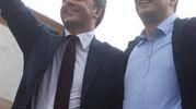 Elezioni 2016, Matteo Renzi in piazza del Popolo per sostenere De Pascale (foto Corelli)